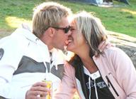 Åsa och Kristian fann kärleken på Mötesplatsen