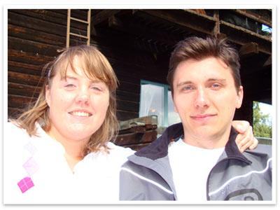 Nicolina och Sergey